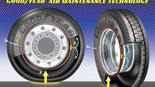 Goodyear comienza a probar sus neumáticos 'siempre inflados'