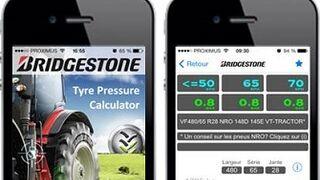 Bridgestone lanza una app para neumáticos agrícolas