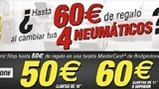 First Stop regala hasta 60 € por comprar neumáticos Bridgestone