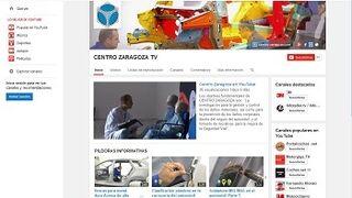 Centro Zaragoza crea su propio canal en Youtube