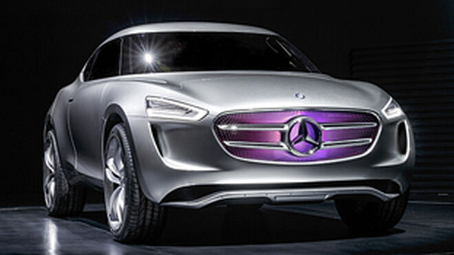 Mercedes-Benz ensaya un coche con carrocería sensible