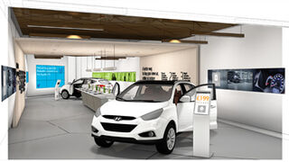 Hyundai abre un showroom virtual en un centro comercial