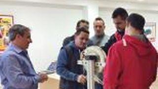 Eurotyre lleva la formación a sus talleres andaluces