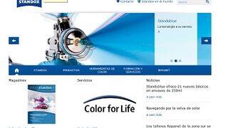 Standox renueva su página web