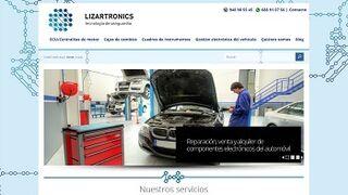 Lizartronics renueva su página web