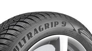 Goodyear lanza UltraGrip 9, su neumático de invierno de novena generación