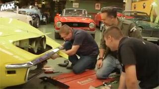 Un taller de Burgos restaurará coches clásicos para la TV