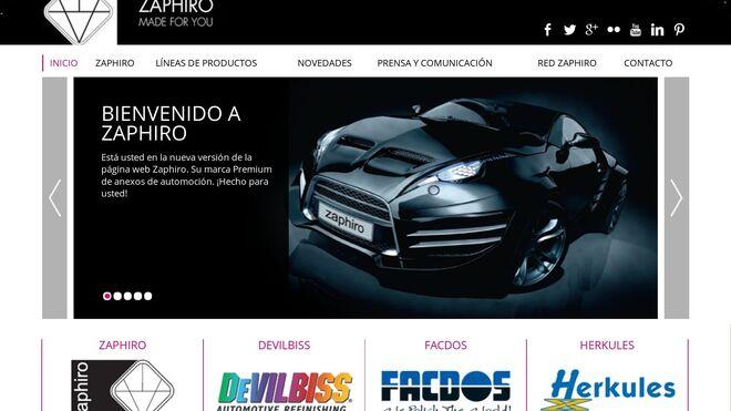 Zaphiro: apuesta online con nueva web y presencia en redes sociales