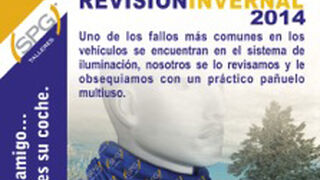 SPG Talleres promociona las revisiones de invierno
