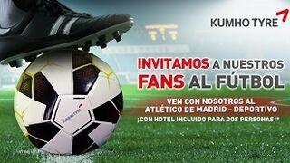 Kumho regala en Facebook dos entradas VIP para ver un partido de Liga