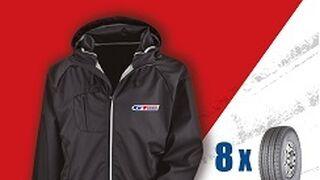 GT Radial regala una chaqueta al comprar 8 neumáticos de camión