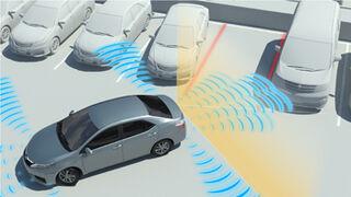 Toyota, más sensores para la ayuda al aparcamiento