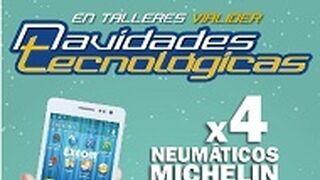 Regalos en Vialider por la compra de neumáticos Michelin