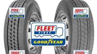Goodyear FleetFirst sumó 30.000 vehículos este año