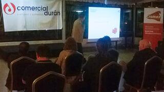 Comercial Durán reunió a 50 talleres en Pontevedra