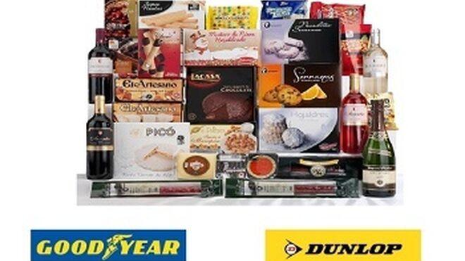 Grupo Total regala una cesta de Navidad al comprar neumáticos Goodyear o Dunlop