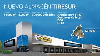 Tiresur construirá un nuevo almacén en Getafe (Madrid)
