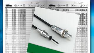 NGK-NTK, todos los sensores de gas de escape en su nuevo catálogo