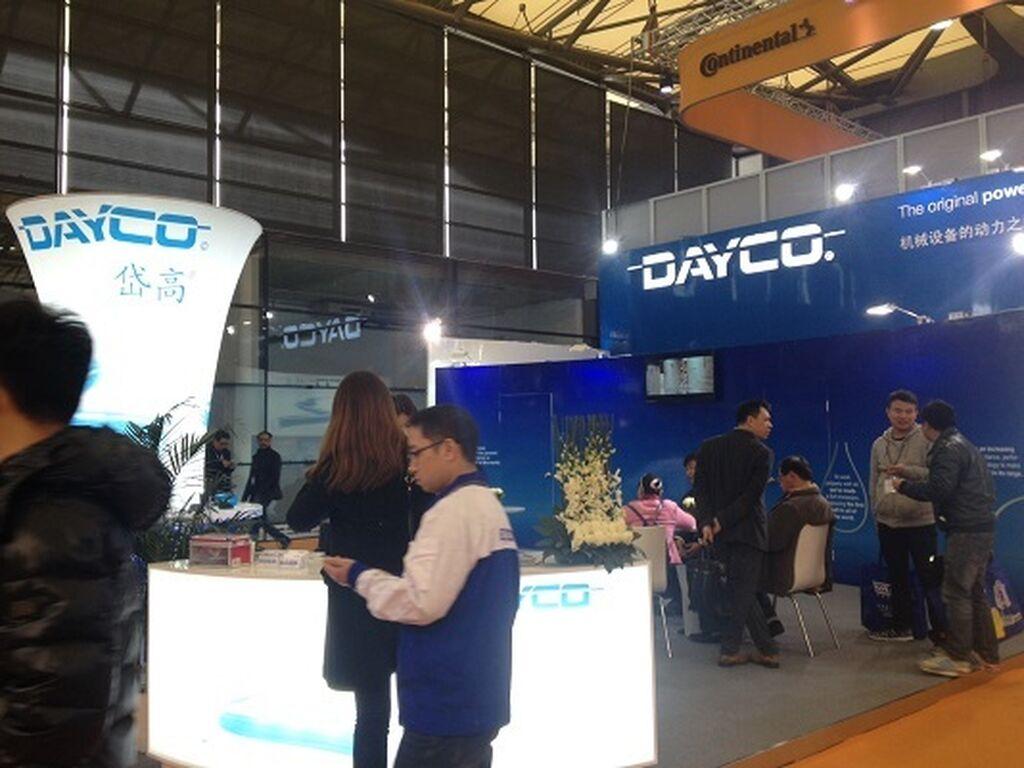 Dayco, presente en Automechanika Shanghai 2014.