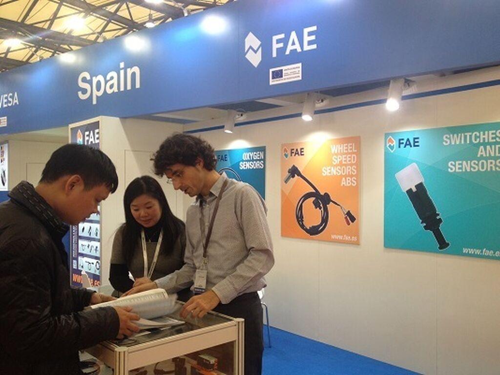 Fae también tiene su stand en Automechanika Shanghai 2014.