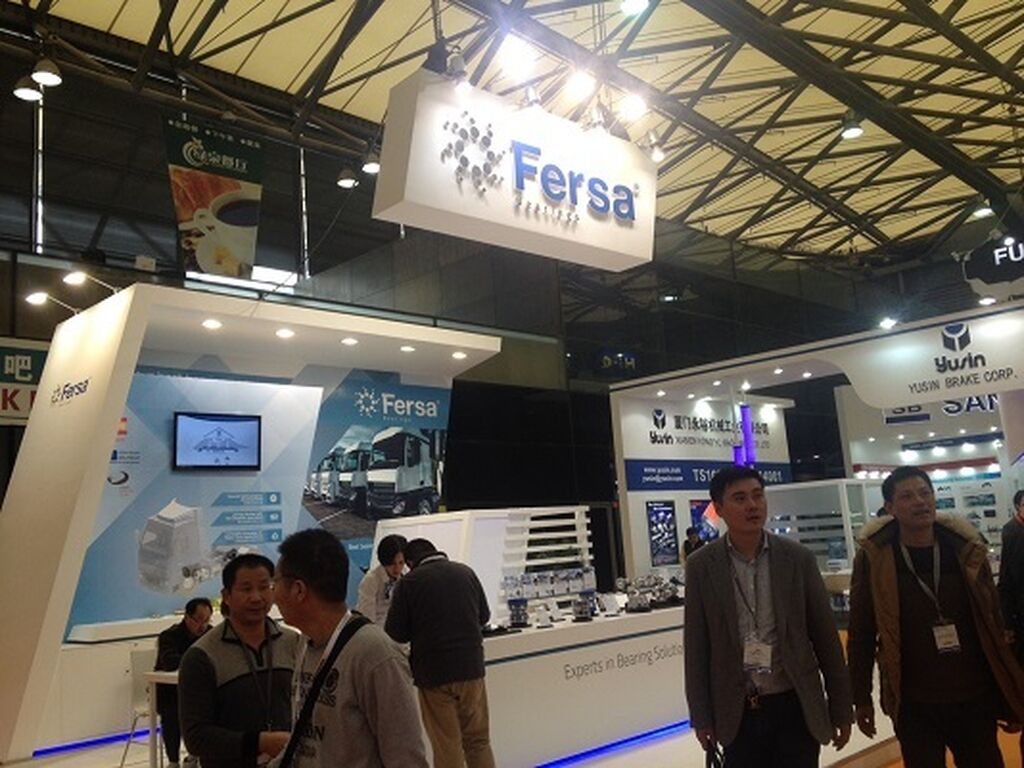 Fersa también dispone de espacio en Shanghai.