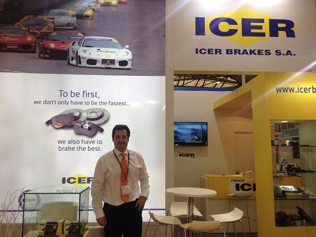 Iban Iriondo, director general de Icer Brakes.
