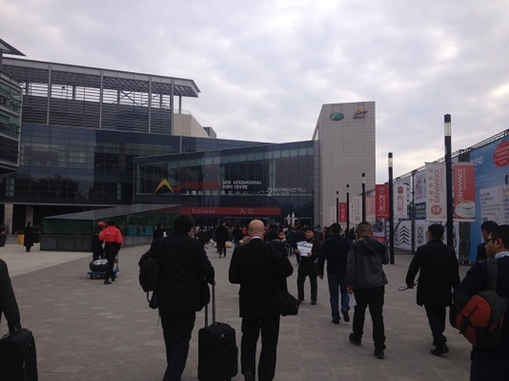 New International Expo Centre de Shanghai (China)