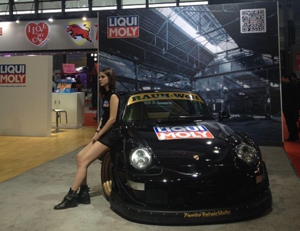 Liqui Moly también tiene su espacio en Automechanika Shanghai 2014.
