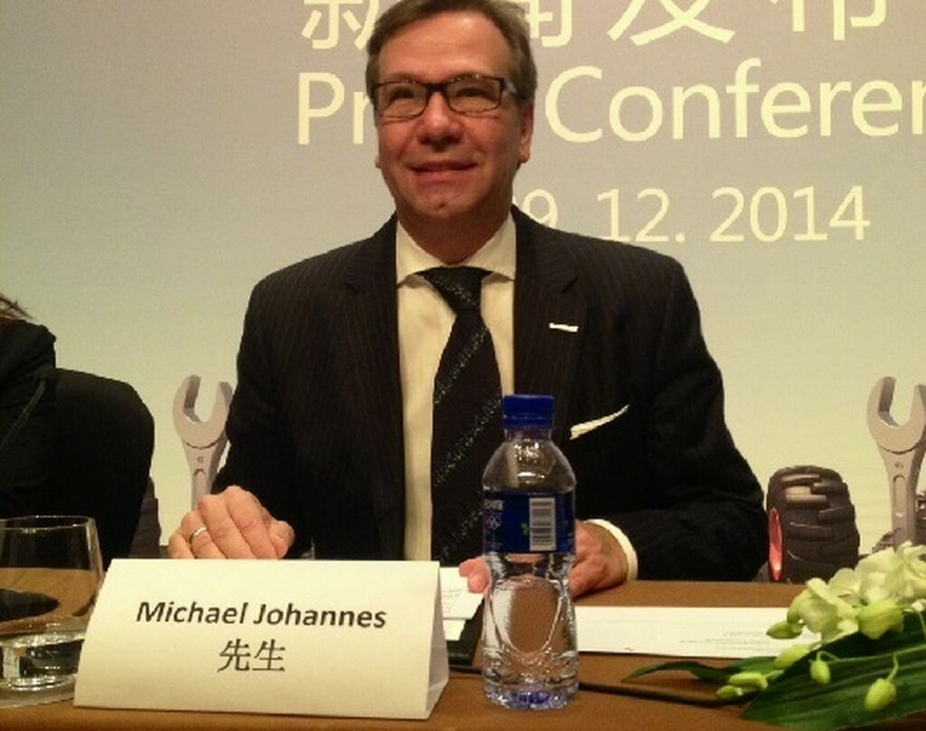Michael Johannes, Brand Manager de Automechanika, en la rueda de prensa.
