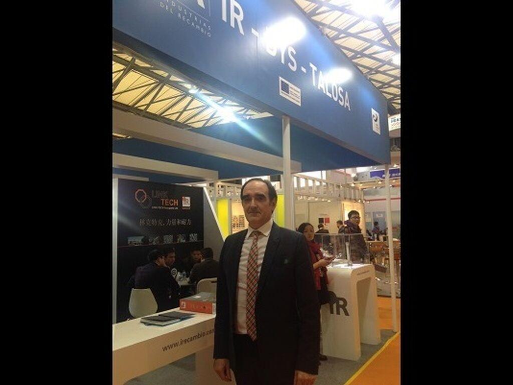 Patxi Gorrotxategi, director general de Talosa, expositor de Automechanika Shanghai desde los inicios de la feria.