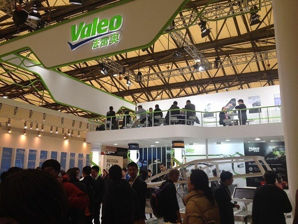 Valeo, otro de los expositores multinacionales presente en Automechanika Shanghai.