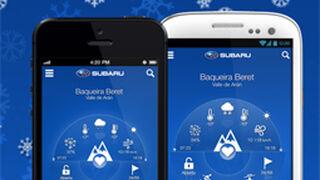 Subaru acerca sus concesionarios a los esquiadores