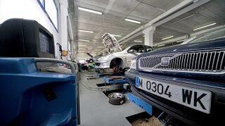 La actividad de los talleres de coches cae el 1,8% en 2014