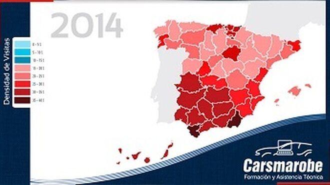 Carsmarobe impartió 112 horas lectivas más en 2014