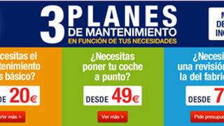 Norauto, precios cerrados para mantenimientos desde 20 euros