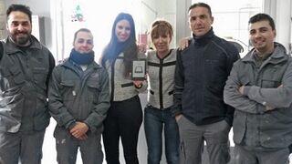 Talleres Morlón recibe el premio por su videofelicitación de Navidad