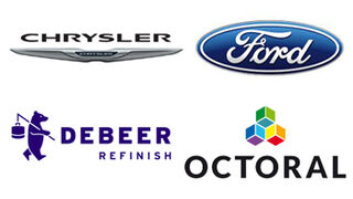 Ford y Chrysler homologan productos de las marcas De Beer y Octoral