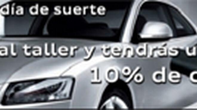 Audi Retail Madrid descuenta el 10% en taller los viernes