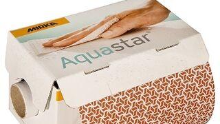 Mirka lanza a la venta Aquastar, su nuevo abrasivo para el lijado a mano