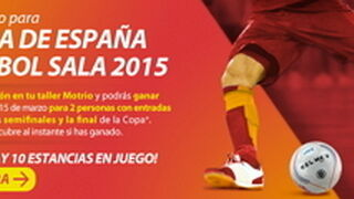 Talleres Motrio regala entradas para la Copa de España de fútbol sala