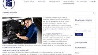 Cetraa registra en su web más de 340 denuncias de talleres ilegales en un año