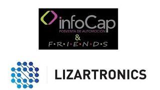 Tu invitación al GinTonic de InfoCap & Friends, en el stand de Lizartronics (Motortec AM)