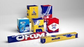Metelli renueva la imagen de los embalajes de todas sus marcas