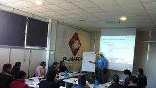 Pumarca imparte un curso de gestión gerencial a sus talleres clientes