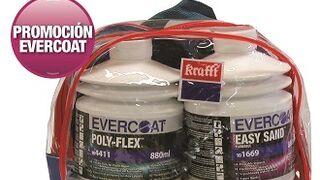 Evercoat promociona sus masillas ultraligeras con un pack-mochila