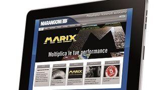 Marangoni renueva su página web