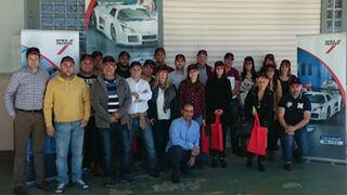 35 talleres se forman en colorimetría y gestión con G.B. Herg Canarias