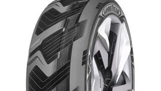 Goodyear idea un neumático que genera electricidad