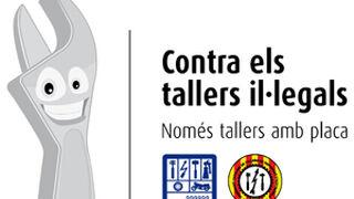 Denuncian a 216 talleres ilegales catalanes mediante la web de Fecatra