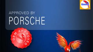 Porsche homologa a Glasurit para reparar sus vehículos